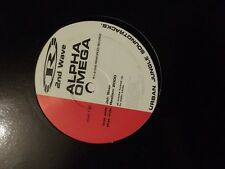"Alpha Omega-Jah Step/Realism 2000 Reinforced Records 12"" Drum and Bass Vinyl"