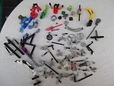 lot Lego bionicle miscellaneous pieces parts steam shovel mask face weapon wheel