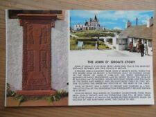 POSTCARD CAITHNESS GRAVE OF JOHN DE GROOT AT CANISBAY CHURCH - JOHN O GROATS
