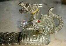Denicolo by Sunglo Designs Dragon Pewter Incense Burner 1997