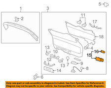 GM OEM Front Door-Courtesy Lamp 12787007