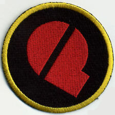 "GI Joe Action Force 3"" Patch - Q Force - Navy"