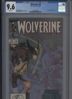 Wolverine #16 CGC 9.6 - 1989 - beautiful KEVIN NOWLAN cover