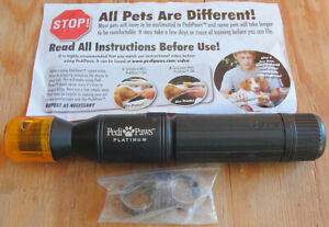 Pedi Paws PediPaws Platinum Dog Cat Claw Pet Nail Trimmer File AWESOME!