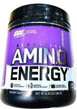 amino energy 20 Servings Exp.09/2021. 6.35oz.
