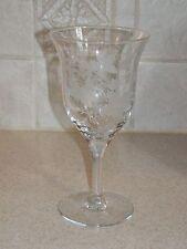"TIFFIN FRANCISCAN GLASSWARE ONEIDA PATTERN WATER GOBLET 6 3/4"" EXCELLENT!"