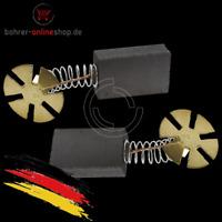 2x Kohlebürsten für AEG 8x16x25,5/27mm