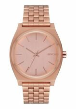 **BRAND NEW** NIXON THE TIME TELLER WATCH ALL ROSE GOLD A045897 NEW IN BOX!