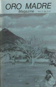 ORO MADRE VOL 2 #3-4 JACK HIRSCHMAN CHARLES BUKOWSKI STEVE RICHMOND LOCKLIN1984