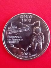 2002 US-Ohio 1803 Birthplace of Aviation Pioneers-quarter dollar coin.