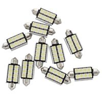10 x 43mm 5050 SMD 8 LED Canbus Ampoule Lampe Dome Festoon Blanc Voiture Q6A5
