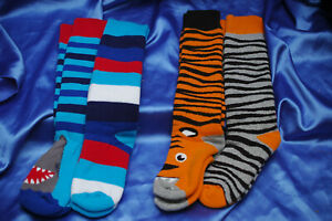Boys & Girls Welly Boot Socks - Packs of 2 - Shoe Sizes 6-8.5 / 9-12 /12.5-3.5