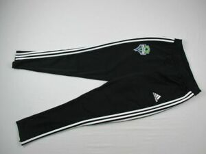 Seattle Sounders FC adidas Athletic Pants Men's Black Poly Used Multiple Sizes