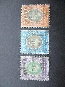 British Commonwealth Stamps: Set Used  -  RARE   -  (h190)