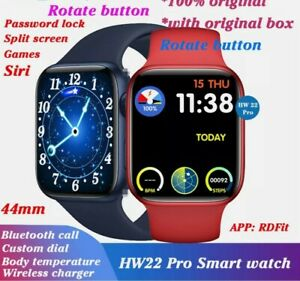 """🔥NEW HW22 Pro Smart Watch 😎 Bluetooth 44mm 1.75"""" Series 6 For iOS Android US"""