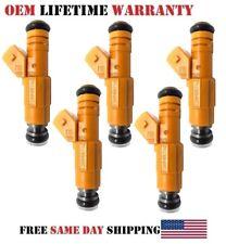 <5unit> Rebuilt Fuel Injectors {1997 Volvo 850 2.3L I5} OEM Bosch MP# 0280155746