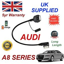 For AUDI A8 AMI MMI 4F0051510K iPhone 3gs 4 4s most 30 pin iPod Cable long
