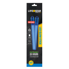 Life Gear LED Reusable Glow Stick 2 Pack - NEW IN PACKAGE