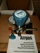 Airgas Y12 244f590 Specialty Gas Regulatorcv Analytical Plated Brass 3500 Psi
