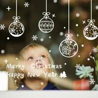Merry Christmas Wall Art Home Vinyl Window Wall Removable Stickers Decal_Decor