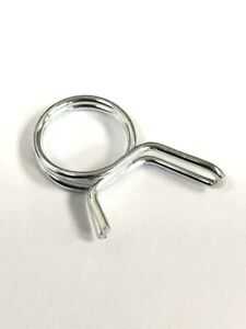 Double Wire Hose Clips Spring Fuel Clamps   Silicone Pipe Air Band Vacuum Tube