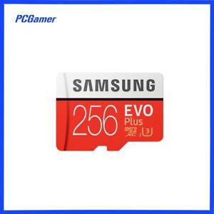 Genuine Samsung Evo Plus 256GB Micro SDXC Memory Card/SD Adapter UHS-1/CLASS 10