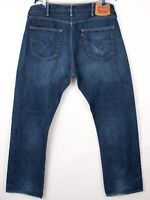 Levi's Strauss & Co Hommes 501 Jeans Jambe Droite Taille W38 L32 BCZ248
