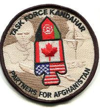 ISAF CANADIAN PARTNERS FOR AFGHANISTAN νeΙcrο INSIGNIA: TASK FORCE KANDAHAR TFK
