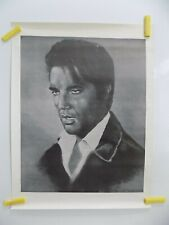 1978 23 X 18 Approx Elvis Poster By Marge Nichols