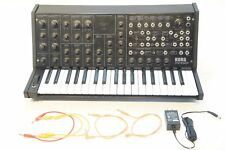 KORG MS-20 mini Monophonic Analog Synthesizer w/ Adapter AS-IS