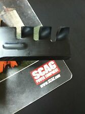 "SCAG GATOR STYLE MULCH BLADES FOR 48"" CUT REPLACES OEM 482461 481710 SET OF 3"