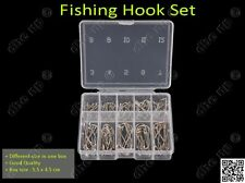 Fishing Hooks Set - 100 hooks inside One box pack - different size hookset