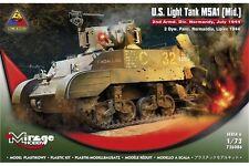 MIRAGE HOBBY 726086 1/72 U.S. Light Tank M5A1 (Mid.)