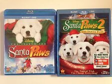 Disney's Santa Paws 1 & 2 Collection (Blu ray & DVD) (NEW)