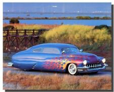 1949 Custom Mercury Vintage Classic Car Wall Decor Art Print Poster (16x20)