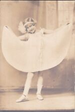 Antique Photograph -Young Girl Dancer- 1920's by Charles E. Stacey Photographer