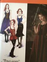 Simplicity Sewing Pattern 2757 Ladies Misses Gothic Costume Size 14-22 UC