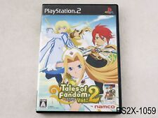 Tales of Fandom (B Cover) Playstation 2 Japanese Import JP Japan PS2 US Seller B