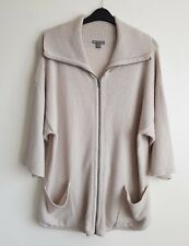 GAP LADIES 100 %LAMBSWOOL OVERSIZED CARDIGAN JACKET SIZE M UK 12-14-16