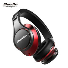 NEW Bluedio UFO Bluetooth4.1 Wireless Headphone Headset 8 Unit Speakers 3D BLK-R
