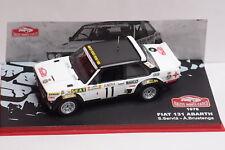 IXO - FIAT 131 ABARTH RALLYE MONTE CARLO 1978 - 1/43 - diecast CAR AUTO
