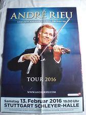 Konzertposter André Rieu Stuttgart 2016
