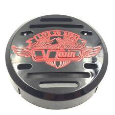 Black V-Twin Horn Cover- For Yamaha V-Star 650 Vstar Classic Custom (Fits: Yamah