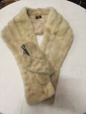 VINTAGE ANTIQUE FUR JACKET BIBER FURS SYDNEY COAT SHAWL COLLAR