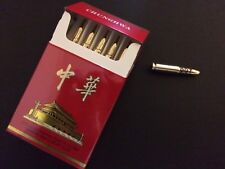 James Bond Scaramanga Cigarette Box Bullets Man with the Golden Gun LAST 5 sets