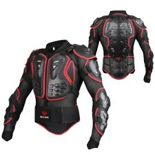 Men Full Body Armor Jackets Motorcycle Elbow Shoulder Chest Back Pad Protector