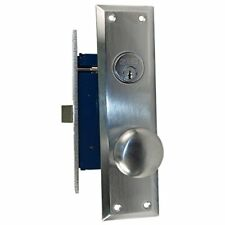 Countryside Mortise Entry Lockset This Lock Fits Marks 91A  Mortise Satin Chrome
