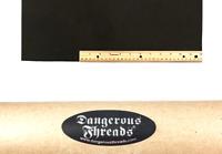 Scrap Lace Leather Black Cowhide 10 X 18 Piece #L400