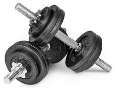 30kg (2x15) Gusseisen Kurzhanteln Hantel Set Hanteln Gewichte Hantelscheiben
