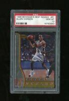 1996 Bowman's Best Rookie Allen Iverson RC Rookie PSA 10 GEM MINT